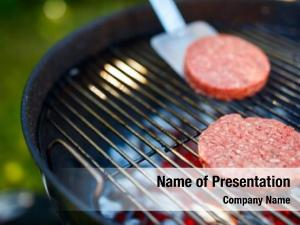 Meat grilling burger cutlets homemade