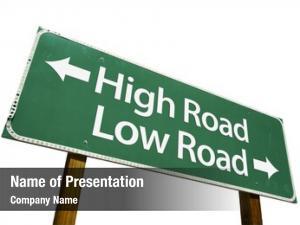 Low high road, road road