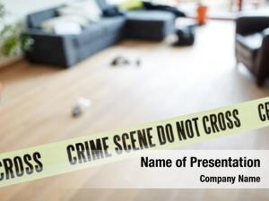 Locking crime scene police after