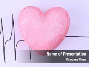 White heart cardiogram