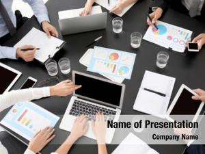 Marketing experts consulting team young