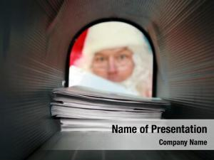 Gets santa claus his mail