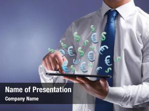 Online making money concept