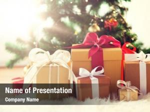 Holidays presents powerpoint template