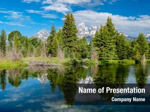 Wilderness teton scenic reflection
