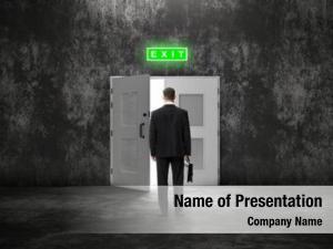 Case backview businessman before open