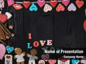Day gingerbreads valentines wedding theme