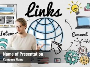 Communication links global connection hyperlink