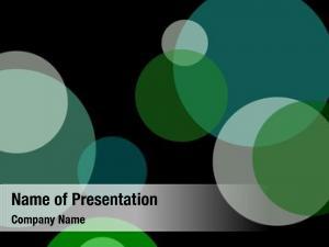 Green abstract minimalist circles useful