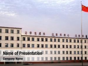 School secondary public north china