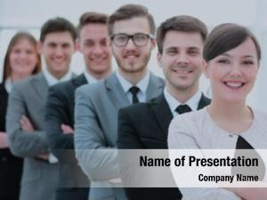 Concept of the professional powerpoint theme