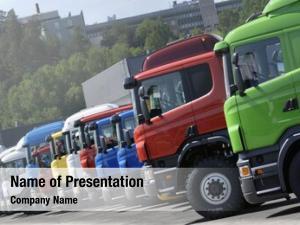 Production trucks line, line