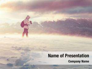 Alone photographer powerpoint template