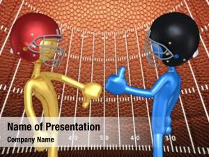 Football illustration original characters