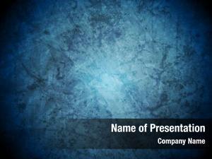 Presentation grunge blue abstract