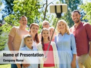 Generation and people powerpoint background