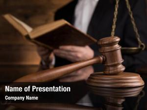 Male courtroom, judge, judge black