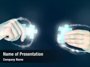Details, hands puzzle partnership concept