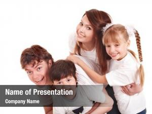 Upbringing happy family children