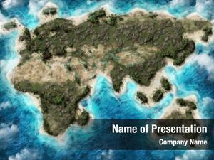 Globe map earth