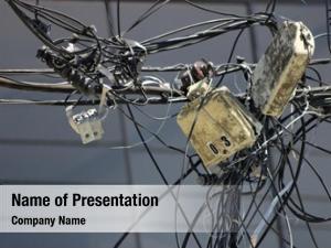 Energy energy theme: distribution mess