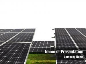 Panels solar energy white