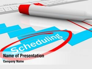 Progress scheduling timing gantt chart