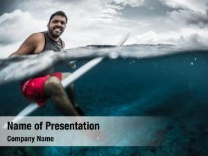 Surfer split shot