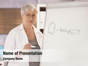 Chemistry senior teaching school, drawing