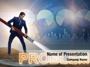 Dealing businessman successfully problems
