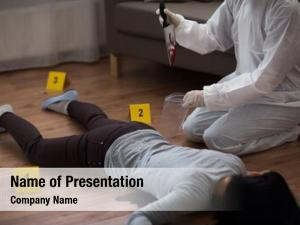 Investigation forensic powerpoint theme