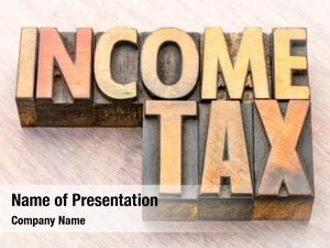 Income tax powerpoint theme