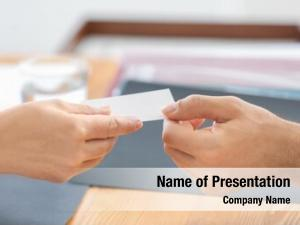 Notary giving powerpoint background