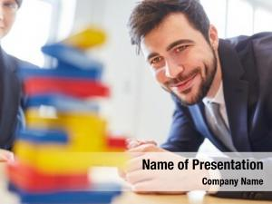 Building business people blocks during