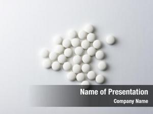 Tablets white medicine pharmaceutical pills