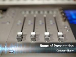 Mixing console electronics music technology