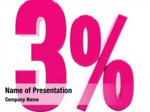 Discount pink percent sign, sale