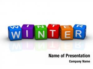 Cubes winter (buzzword series)
