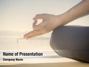 Pose hand meditation