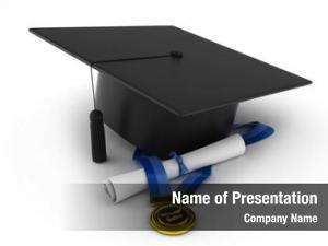 Cap, illustration graduation ribbon, diploma
