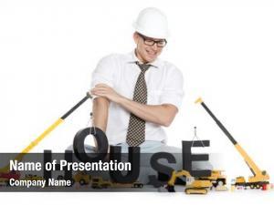 Construction house under concept: friendly