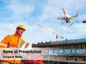 Drone operated powerpoint theme