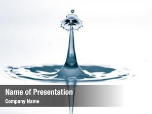 Splash and crown ppt template