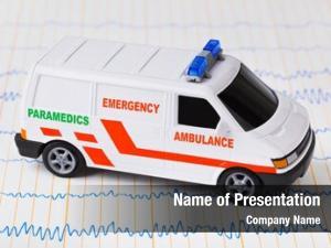 Car toy ambulance ecg medical