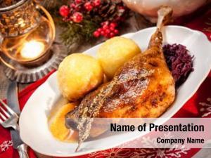 Goose crusty christmas