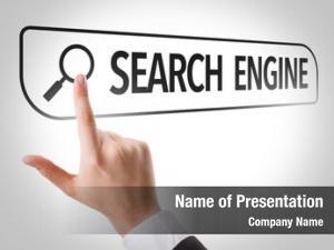 Written search engine search bar