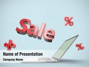 Sale open laptop label jutting