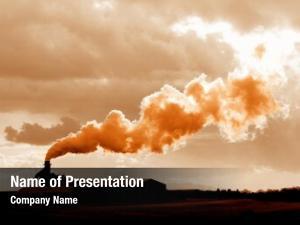 Fumes toxic waste entering atmosphere