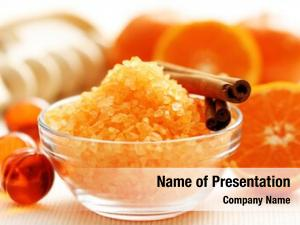 Bath tangerine bath salt fresh