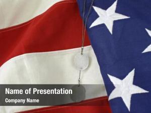 Dog american flag tags